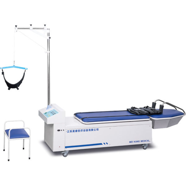 Traction bed for cervical and lumbar treatment、Multi-position electric lifting physiotherapy bed
