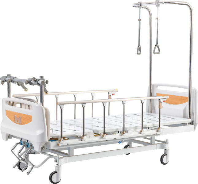 Gantry orthopedic traction bed