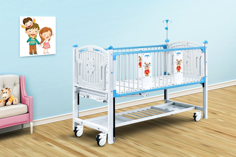 Child-operated sickbed