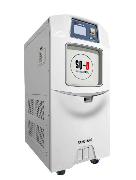 Hydrogen peroxide low temperature plasma sterilizer