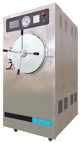 Pulsating vacuum steam sterilizer