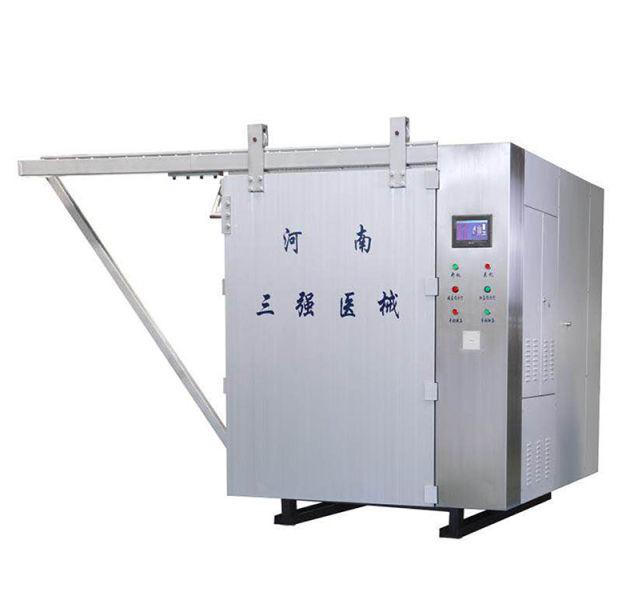 Ethylene oxide sterilization cabinet