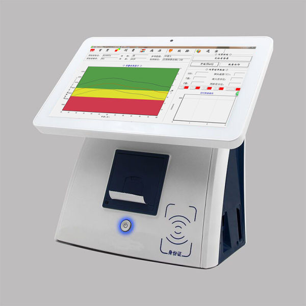 Portable ultrasonic bone densitometer