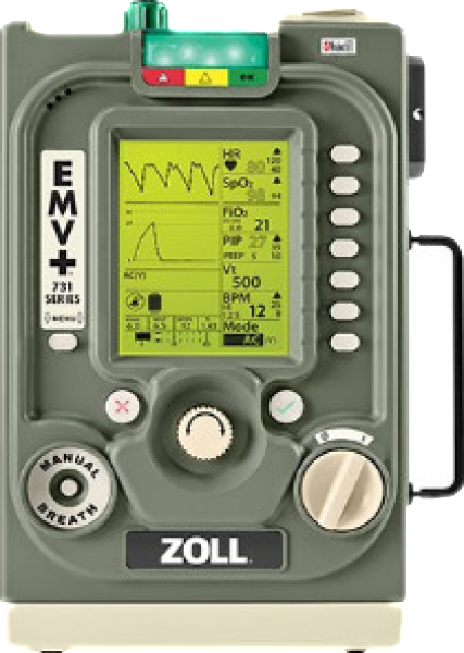EMV+ Portable Ventilator