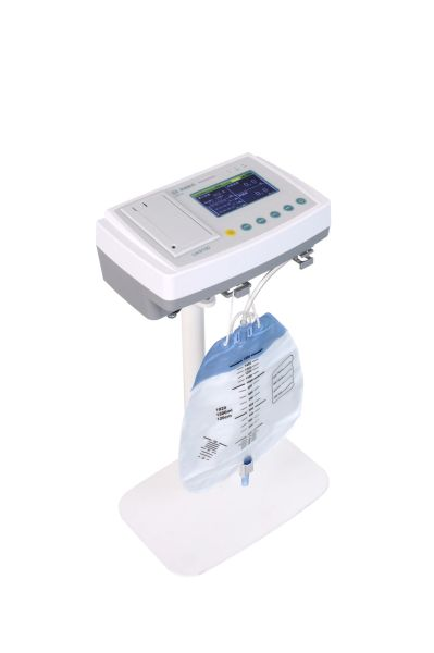 Electronic urine volume meter