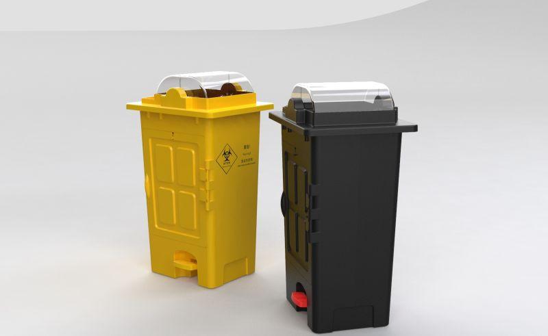 Isolation type - garbage disposal box