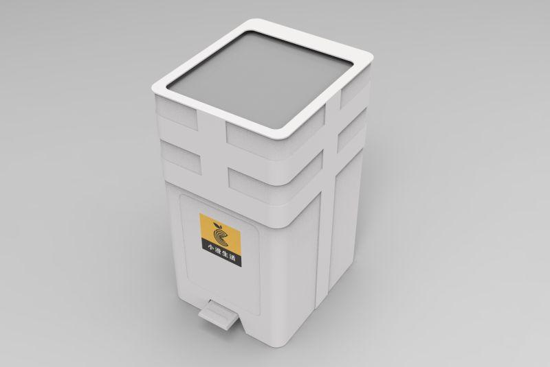 Sealed garbage disposal box