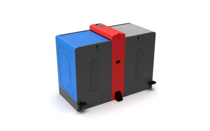 Anti spread classification multifunctional garbage disposal box