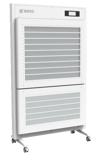 Air disinfection screen