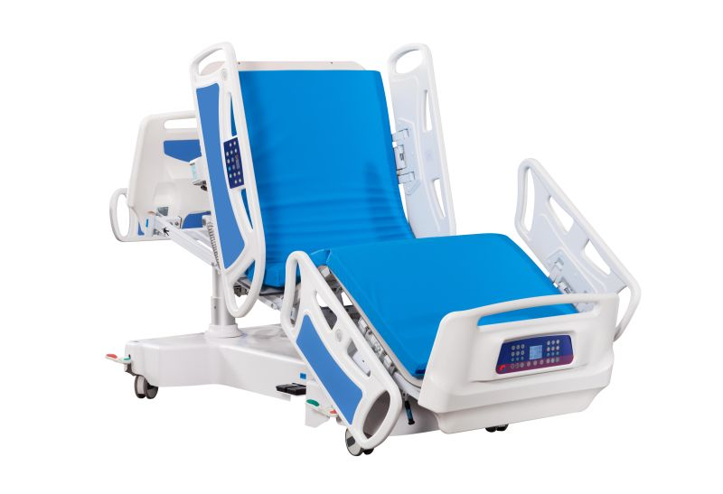 Severe electric hospital bed