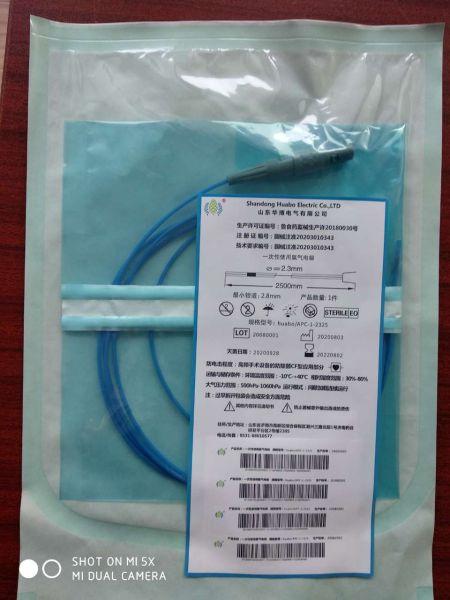 Disposable argon electrode